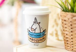 Mug licorne Mr. Wonderfull Nothing is impossible